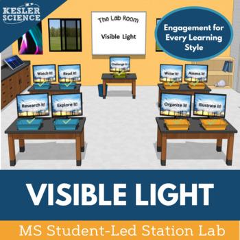 Visible Light Student-Led Station Lab