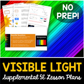 Visible Light - Supplemental Lesson - No Lab