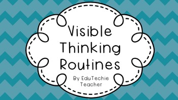 Visible Thinking Posters