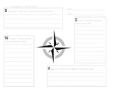 Visible Thinking Routine - Compass Points Freebie (Recording Sheet)