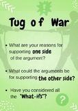 Visible Thinking Routine: Tug of War Poster