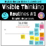 Visible Thinking Routines: Graphic Organizers Set 1| Google Digital Resource