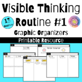 Visible Thinking Routines: Graphic Organizers Set 1| Printable Resource
