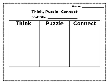 Visible Thinking - Think, Puzzle, Connect