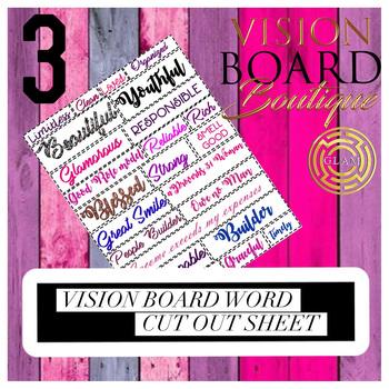 Vision Board Boutique Destiny Board GLAM 2