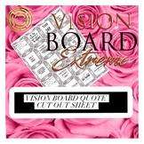 Vision Board Boutique Destiny Board Square Bling Vision Bo