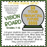 Vision Board - Goals, Wants, Needs - Financial Literacy