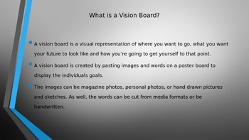 Vision Board Power Point