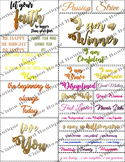 Vision Board Quote Cut outs | Quote Printable sheets | Wal