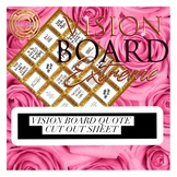 Vision Board Quotes | Gold | Positive Affirmation | Boutiq