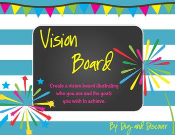 Goal Setting - Vision Board
