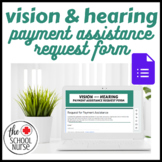 Vision & Hearing Assistance Request Form