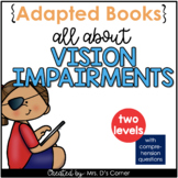 Vision Loss Adapted Books [Level 1 and Level 2] Digital +