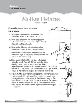 Vision and Optical Illusions (Ten-Minute Activities)