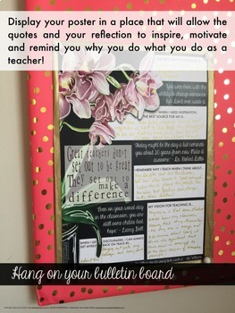 Vision Poster For Inspired Teaching