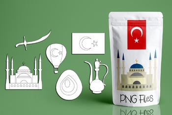 Visit Turkey clip art - Turkish clipart