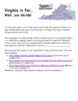 Visit Virginia Geography Project