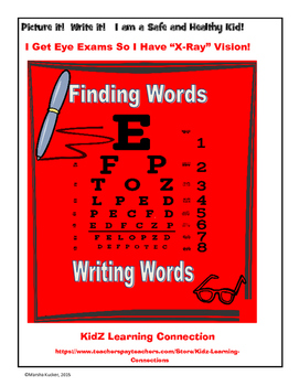 Word Work:  Visit to the Eye Doctor
