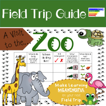 Visit to the Zoo: Field Trip Guide