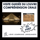 French Listening Comprehension Exercise - Visit the Louvre - Compréhension Orale