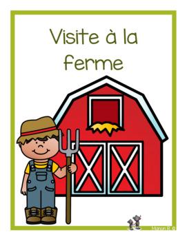 Visite à la ferme (emergent readers)