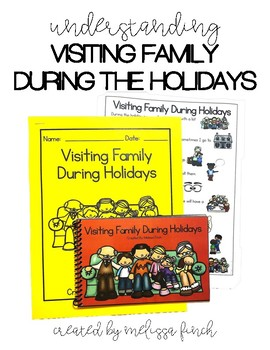 Visiting Family During Christmas- Social Story for Students with Autism