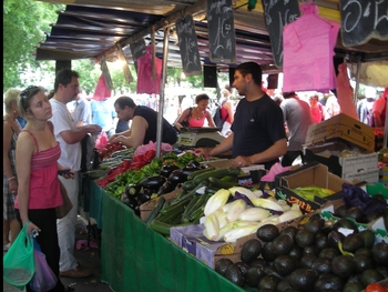 Visiting a French Market Power Point