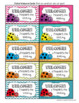 Visitor Welcome Cards- LADYBUG Theme (Principals or Teachers)