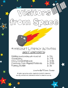 Visitors from Space (Harcourt Supplemental Materials)