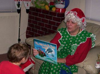 Visits to Classrooms By Mrs. Claus!