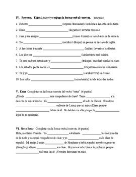 Vistas / /Descubre 1 - Test de lección 2 (100 puntos)