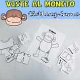 Viste al Monito {Clothing Game}