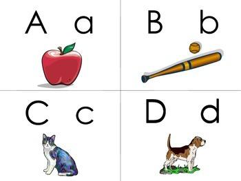 Visual ABC Cards