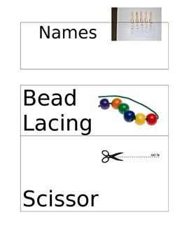 Visual Activity Cards