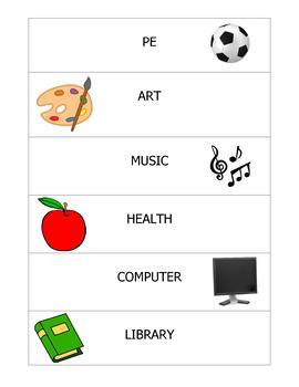 Visual Activity Schedule