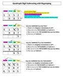 Visual Aid: Subtracting 4 Digits