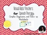 Visual Aids, Graphic Organizers, Worksheets (Strategies, Vocabulary, grammar)