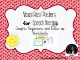 Visual Aids / Posters for Speech Therapy (Reading Strategi