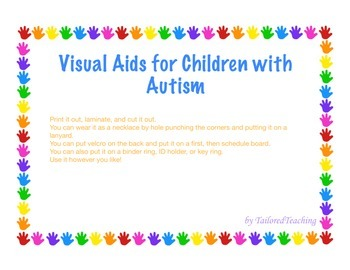 Visual Aids for Children with Autism