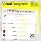 Visual Anagrams (make new words from the scrambled letters