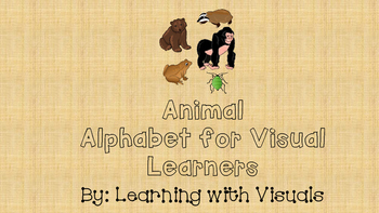 Visual Animal Alphabet