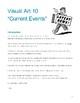Visual Art 10:  Current Events