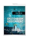 Visual Art 30 Sketchbook Assignment