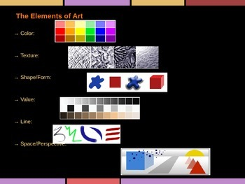 Visual Art Class Portfolio Lesson PowerPoint