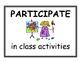 Visual Art Classroom Expectations/Rules