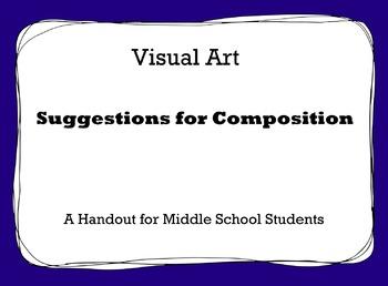 Visual Art Composition Handout