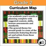 Visual Art Curriculum Map Grade 2