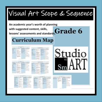 Visual Art Curriculum Map Grade 6