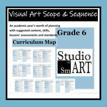 Visual Art Curriculum Map Grade 6