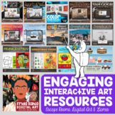 Visual Art Digital Resources & Interactives for Middle Sch